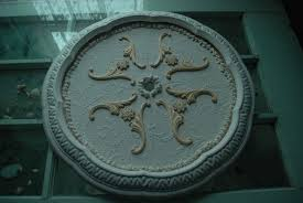 Split Design Ceiling Medallion by Making My Own Ceiling Medallion Reflections By Sal