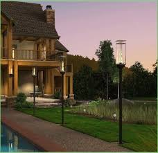 lighting outdoor post light fixture low voltage outdoor led post