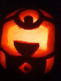 Pumpkin Carving Minion by Minion Pumpkin Carving Talkin U0027 Nerdy Pinterest Minion