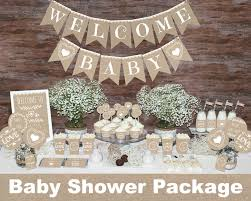 Gender Neutral Baby Shower Decorations
