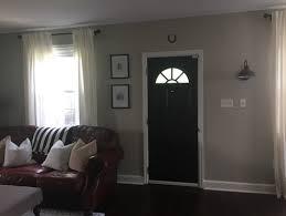 Furniture Arrangement With Front Door In Middle Of Living Room