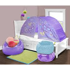 Kids Scene Lavender Butterfly Play Bed Tent Walmart