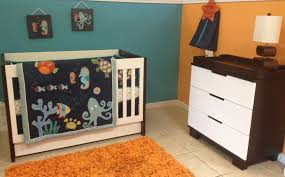 Babyletto Modo 3 Drawer Dresser White by Bedroom White Crib By Babyletto On Wheat Ceramics Floor Plus