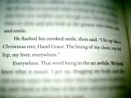 Christmas Tree Books Pinterest by I Lit Up Like A Christmas Tree Hazel Grace
