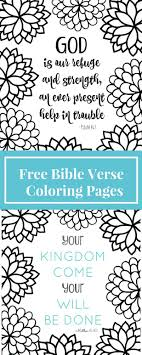 Childrens Free Coloring Pages Bible Printable For Preschoolers Verse