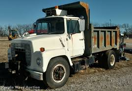 100 Ford Truck 1980 F800 Dump Truck Item BU9902 SOLD March 7 Gove