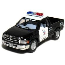 Dodge Ram Toy Police Pickup Truck 1:44 Scale 5
