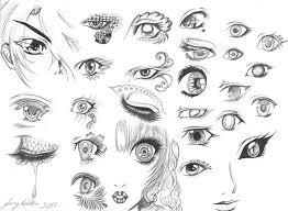 Anime Eyes By Izaioi