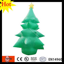 4m 13ft Inflatable Led Christmas Tree Ornament Stand Xmas Ornaments New Year Gift Set 420D Oxford