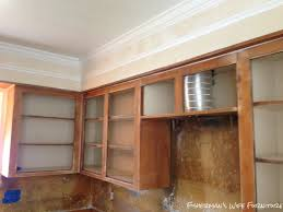 Kitchen Soffit Painting Ideas by Fisherman U0027s Wife Furniture Covering Fur Down The Space Above