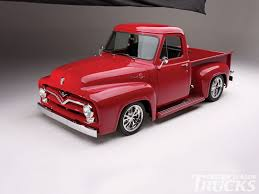 100 1955 Chevy Truck Restoration Ford F100 Pickup Hot Rod Network