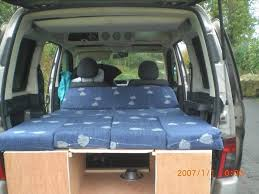 Citroen Berlingo Amdro Type Boot Jump Camper Van Conversion Kit