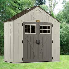 Plastic Storage Sheds At Menards by Suncast Tremont Shed 8ft X 4ft Garden Products