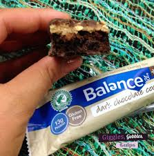 What I Love About The Balance Bars Is Each Packed With 13 Grams Of Protein Are Gluten Free And Dark Chocolate Flavors Help Satisfy My Sweet Tooth