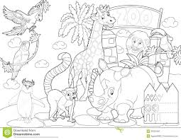 Zoo Coloring With Page Animals Pages Free Printable And
