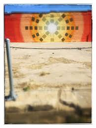 sunburst wall sculpture mural deep ellum dallas texas dallas