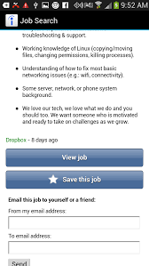 Front Desk Receptionist Jobs Indeed by Five Free Android Job Search Apps Techrepublic