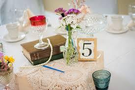 diy shabby chic wedding centerpieces fab mood wedding colours