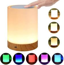led nachttischle touch dimmbar atmosphäre tischle für schlafzimmer wohnzimmer