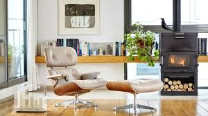 The Conran Shop X Vitra   Departures Magazine 12 Things You Didnt Know About The Eames Lounge Chair Why Are The Chairs So Darn Expensive Classic Chair Ottoman White With Black Base Our Public Bar Hifi Wigwam Vitra Walnut Black Pigmented Lounge Chair Armchairs From Architonic Version Pigmentation Nero 84 Cm Original Height 1956 Alinium Polished Sides Conran Shop X Departures Magazine