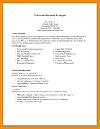 Resume Examples No Work Experience 7 First Sample Limited Job