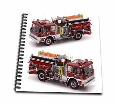 100 Fire Truck Drawing Amazoncom S Book 8 X 8 Inch Db_527_1