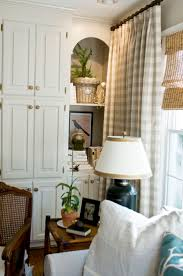 Primitive Living Room Curtains by Best 25 Check Curtains Ideas On Pinterest Grey Check Curtains