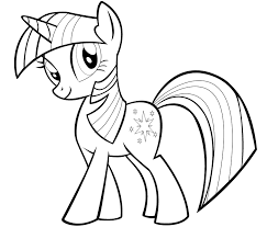 My Little Pony Coloring Pages Twilight Sparkle And Friends Printable 10 M