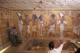 la chambre secrete une chambre secrète se trouverait dans le tombeau de toutankhamon
