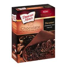 Duncan Hines Decadent Cake Mix Triple Chocolate Reviews