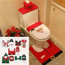 feste besondere anlässe weihnachtsmann badezimmer set