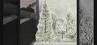 How To Craft A Snowy Wintery Scene Pop Up Card For Christmas Papercraft WonderHowTo