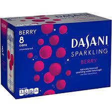Dasani Sparkling Water Berry