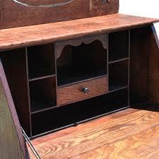 Drop Front Secretary Desk by Antique Ladies Drop Front Mirrored Secretary Desk Scranton Antiques