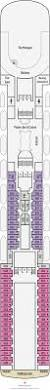 Norwegian Jewel Deck Plan 5 by Pacific Jewel Cabin 8108 Category Ov Oceanview Stateroom