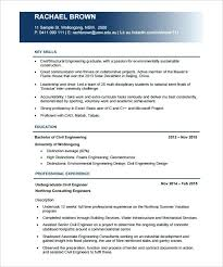 Engineering Resume Template Pdf Civil Engineer Free Download Mechanical Project Sample