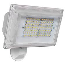 amax lighting 180 degree white outdoor integrated led wall pack