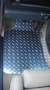 bmw e30 e36 interior metal floor plate mats custom shaped set
