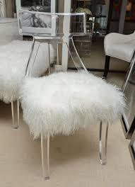 Acrylic Desk Chair On Casters by Acrylic Lucite Desk Chair Large Office Desk Chairlucite Chair