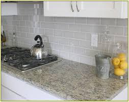 light grey subway tile backsplash kitchen home design ideas