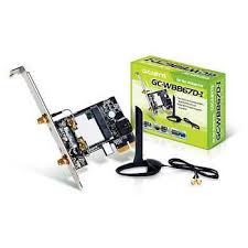 antenne wifi pour pc bureau gigabyte gc wb867d i wifi n wifi ac et bluetooth 4 0 le achat