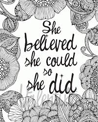 Free Printable Inspirational Coloring Pages In