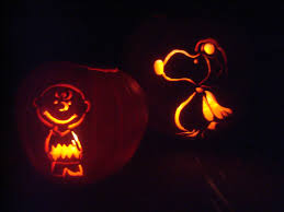 Snoopy Pumpkin Carving Kit by Two Salty Boys Good Grief A Peanuts Halloween