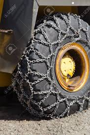 100 Snow Chains For Trucks Of Heavy Goods Vehicle Stock Photo Picture And Royalty