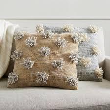 Pom Pom Pillow Covers