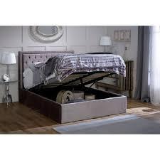 buy limelight rhea ottoman silver bed frame online big warehouse