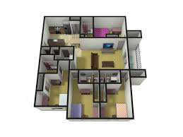 The Level Apartments by 2 4 Bed Apartments Level 27