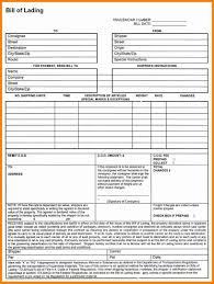 100 Truck Bills Of Lading Bill Template Excel Unique Zrom