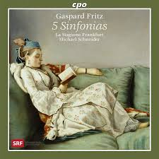 100 Fritz 5 Gaspard Sinfonias CPO 7776962 CD Or Download
