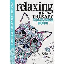 Relaxing Art Therapy Colouring Book